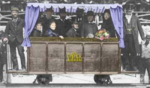 At noon on August 4th 1883 Magnus Volk presented the people of Brighton with his