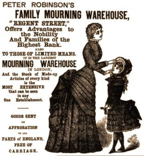 Victorian funerals were big business.
