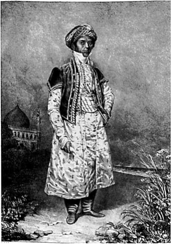 Mahomed was a colourful part of local society, especially when dressed in a costume modelled on Mughal court dress.