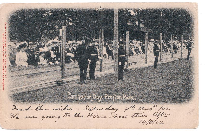Coronation Day (9th August 1902) Preston Park