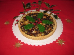 ALMOND  MINCEMEAT TART recipe