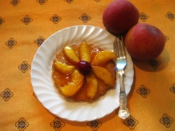 PEACH GALETTES recipe